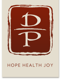 Daniel Paige Acupuncture Logo Hope Health Joy